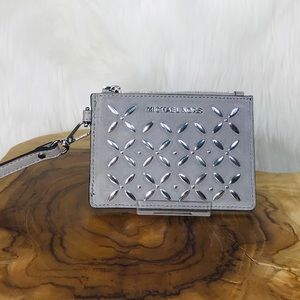 Michael Kors Money Pieces Stud Coin Purse Wristlet